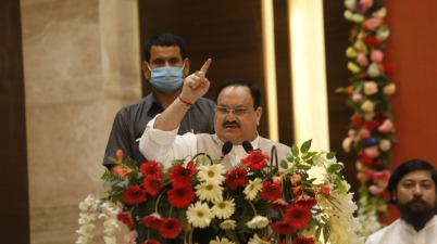 BJP President JP Nadda to launch 'Ek Muthi Chawal' program tomorrow