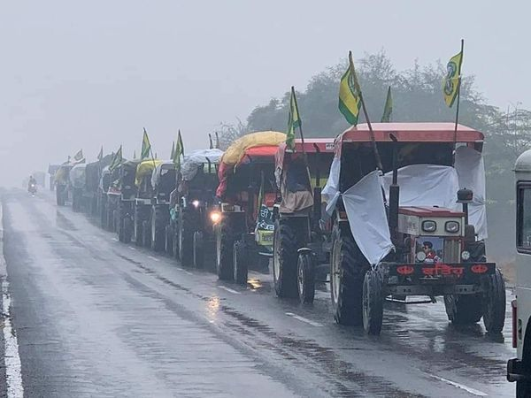 Farmers Protest to Intensifies At Delhi-Ghazipur Border