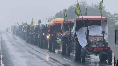 Farmers Protest Farmers to take out tractor march today