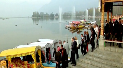 Foreign envoys' to arrive in Jammu and Kashmir today