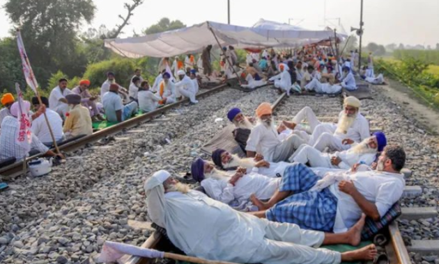 Farmers Protest: Nationwide Rail Roko, between noon and 4 PM