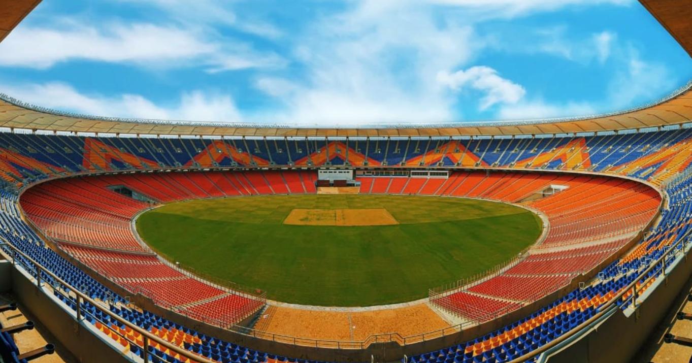 World's largest cricket stadium in Motera, Ahmedabad