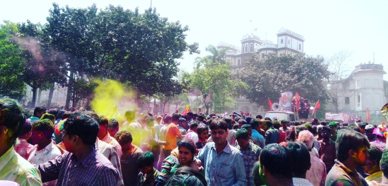 No permission for public celebrations of Rangpanchmi Ger Festival Rajwada in Indore
