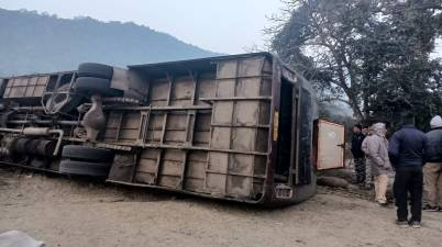 Bihar: Two Dead and Several Injured in Bihar Bus Accident