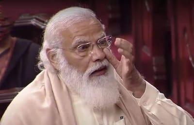 PM Narendra Modi praises Ghulam Nabi Azad, breaks down in Rajya Sabha