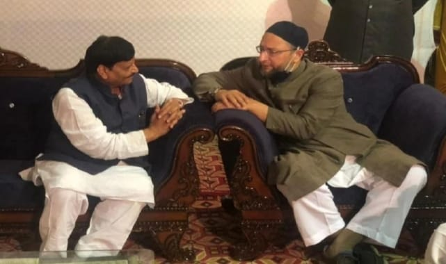 Shivpal Yadav Asaduddin Owaisi meet – political speculation started