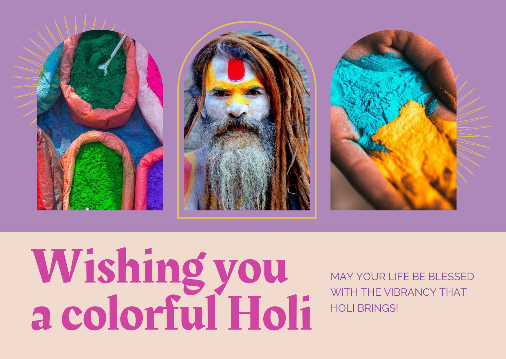 Wishing our readers a very Happy and Safe Holi
