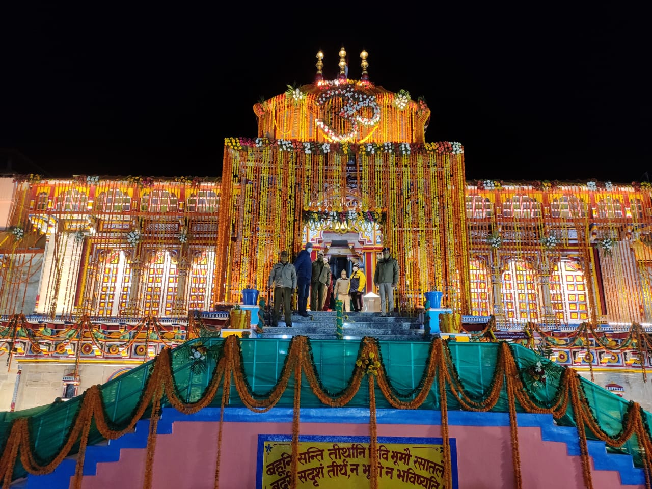 In Videos and Pictures: With full rituals, portals of Badrinath Dham opened