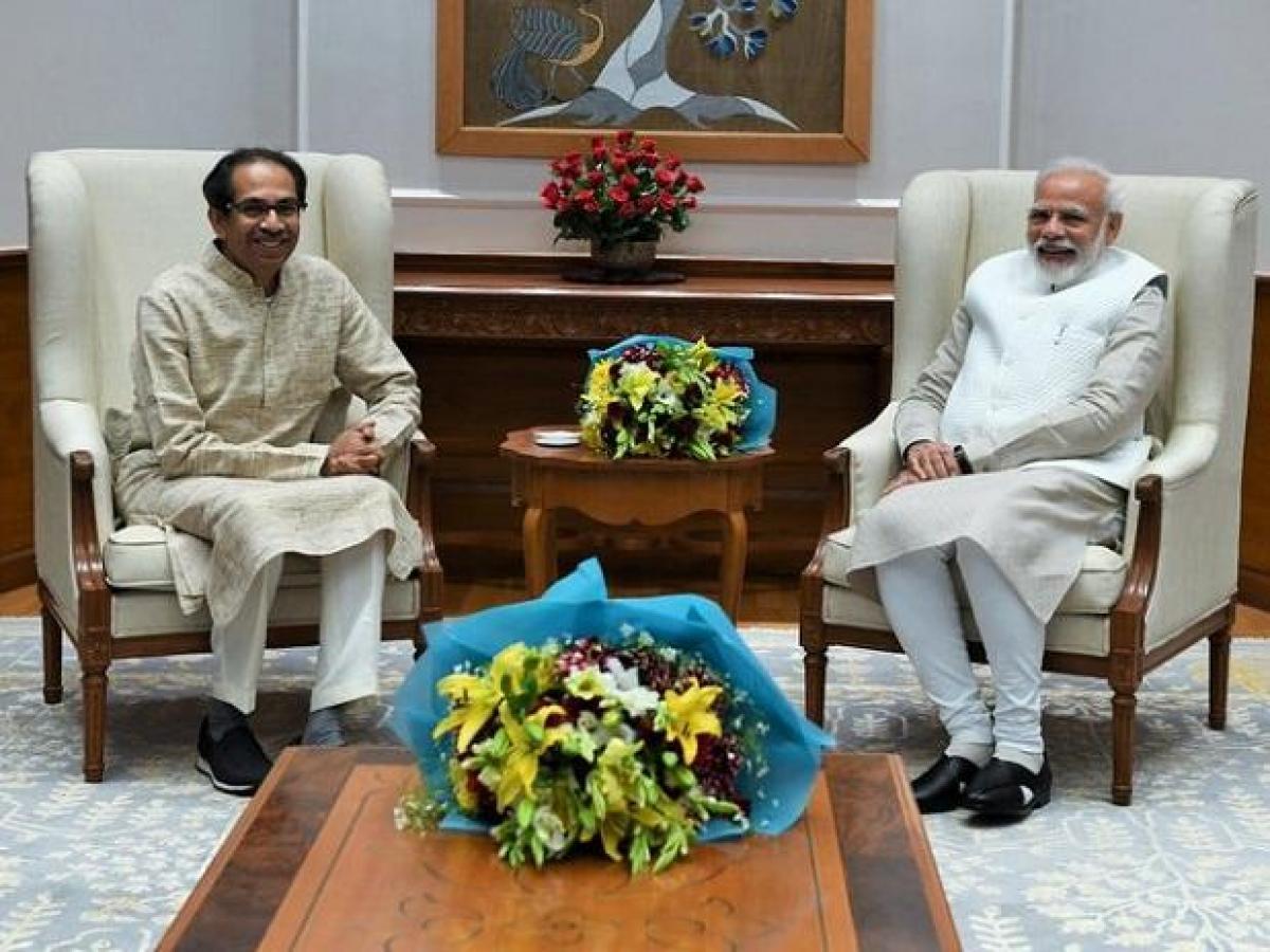 Maharashtra Chief Minister Uddhav Thackeray To Meet PM Modi Today