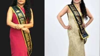 Kerala: Dr Sasilekha Nair crowned Classic Mrs Grand Universe India