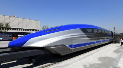 China: World's first 600 kmh High Speed Maglev Train Unveiled in China
