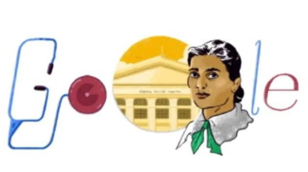 Google Doodle honours India's first female doctor Kadambini Ganguly