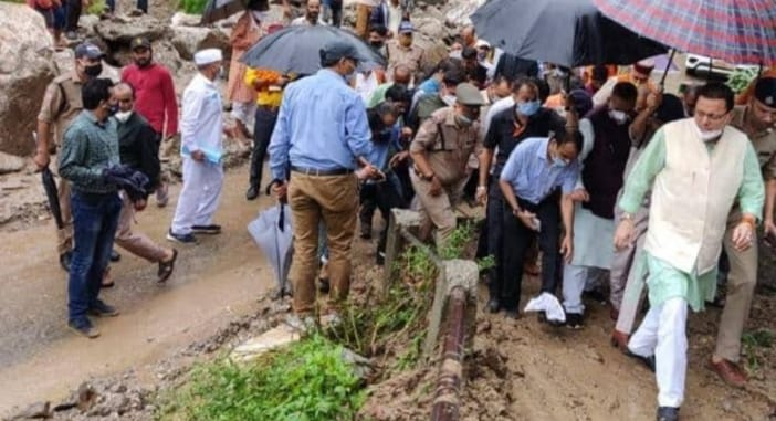 Uttarakhand CM faces tough protest by angry villagers
