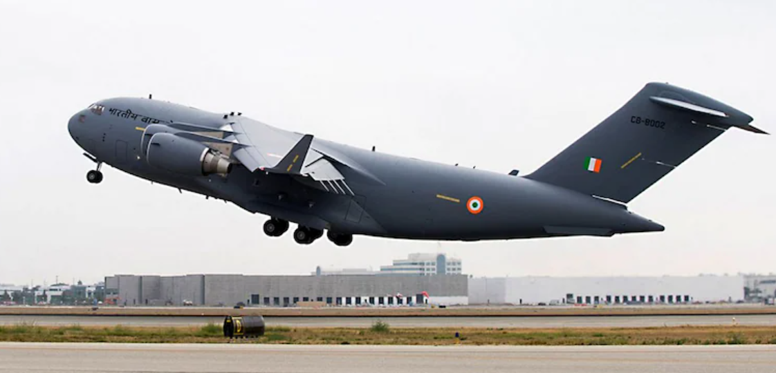 IAF Special Flight Ready For Evacuation Mission From Kabul