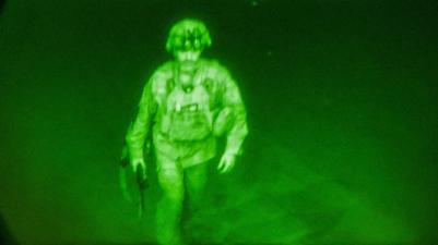 US troops exit The last American soldier to leave Afghanistan Maj. Gen. Chris Donahue