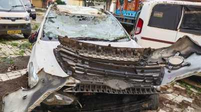 Uttar Pradesh: Horrific Road Car Accident In Mau