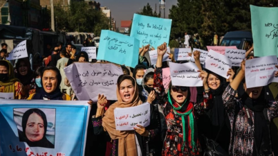Afghanistan women are at the forefront of protests against the Taliban