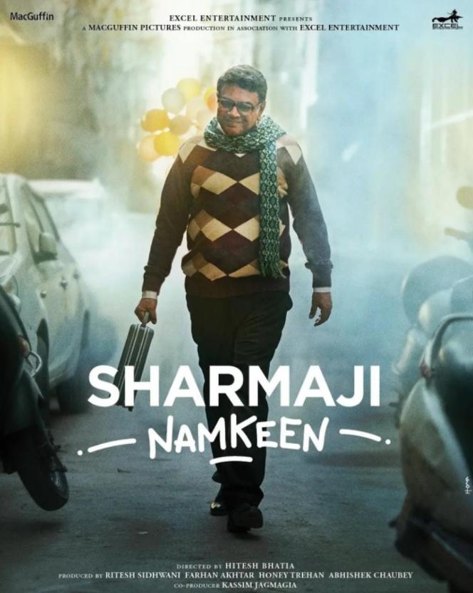 'Sharmaji Namkeen' Poster Out On Rishi Kapoor's Birthday