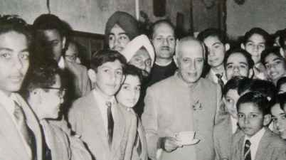 Jawaharlal Nehru's vision for a just and equitable post-colonial world, with India leading the way