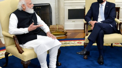 PM Modi's remarks during bilateral meeting with US President Biden