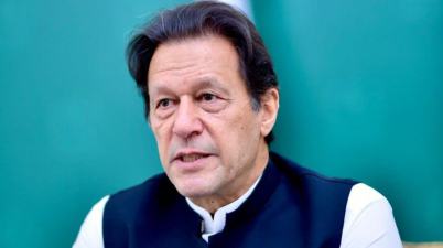 Imran Khan, Prime Minister of Pakistan, addresses the general debate of the 76th Session of the General Assembly of the United Nations