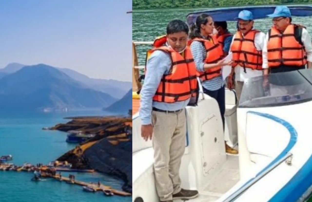 Uttarakhand: CM Pushkar Singh Dhami Visited Tehri Lake