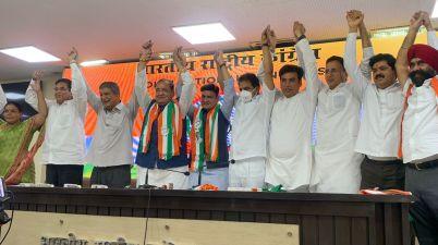 Uttarakhand minister Yashpal Arya, his MLA son join Congress