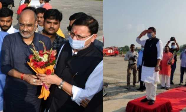 Uttarakhand Chief Minister Pushkar Singh visits Ayodhya, pays obeisance to Ramlala